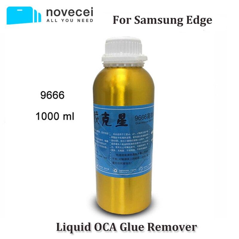 Novecel Frete grátis POR EXPRESSO 9222 9555 9666 borda OCA Removedor de Cola para Samsung S7 S8 Nota 8 s6 edge plus Curvo tela de LCD