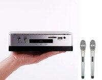 Профессиональный Домашний КТВ HDD караоке плеер с 2 ТБ жестких дисков включают 42 К песни плюс 2 проводной микрофон