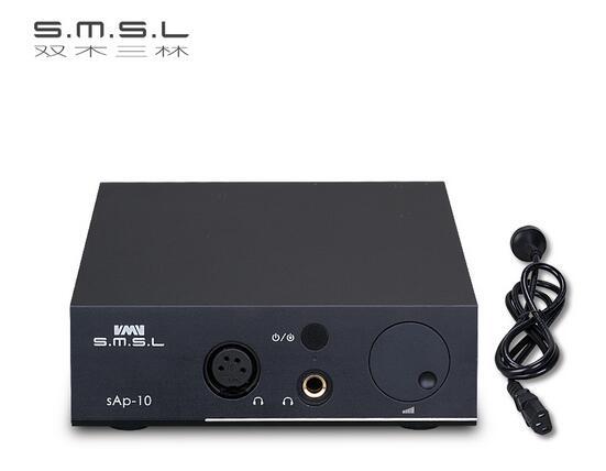 SMSLsAp 10Balanced Desktop Headphone AMP 2*TPA6120A2 Chip RCA/XLR input 6.35mm/Balanced Output HIFI Audio High Power Amplifierpg