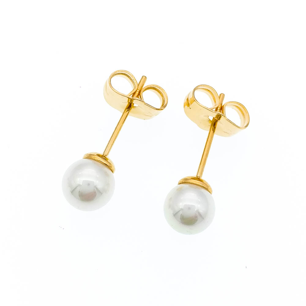Pearl Earring Stud Earrings For Women Bijoux Gold Ear Brinco Ouro - Mote smykker - Bilde 5