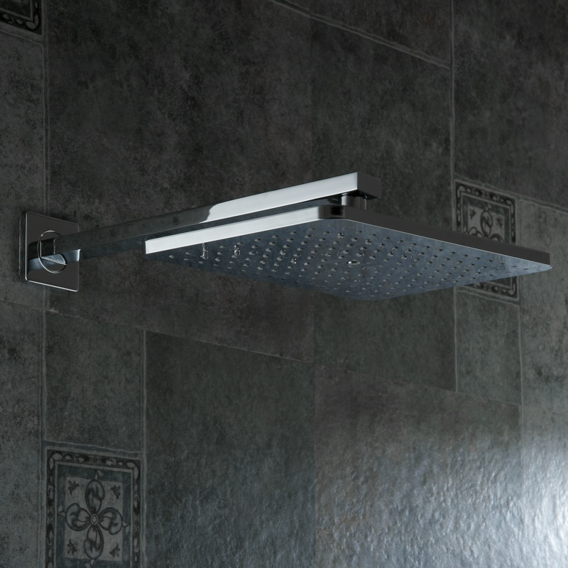 Free Shipping bathroom shower faucet kit 12 inch shower head luxury ...