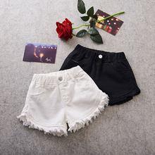 Shorts d'été pour filles, pantalons à franges, décontractés, Shorts de plage pour enfants, vêtements pour petites filles
