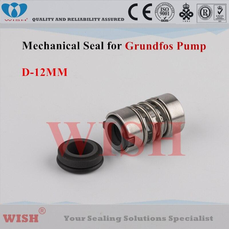 Joint mécanique de type D Grundfos 12 MM - 2