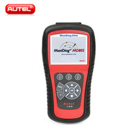Autel MaxiDiag Elite MD802 For 4 System With Datastream Model Engine,Transmission,ABS and Airbag Code Scanner