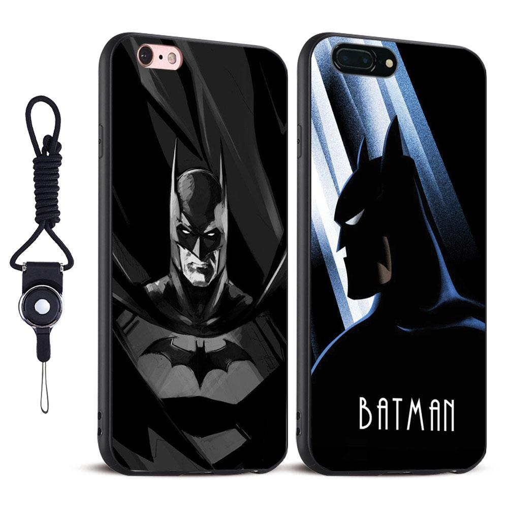 Бэтмен Темный рыцарь повесить веревку ТПУ Мягкая силиконовая мобильного телефона случае Coquille сумка для Apple IPhone 5 SE 5S 6 6 S плюс 7 7 Plus