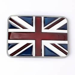Небольшой британский флаг пряжка на ремешке