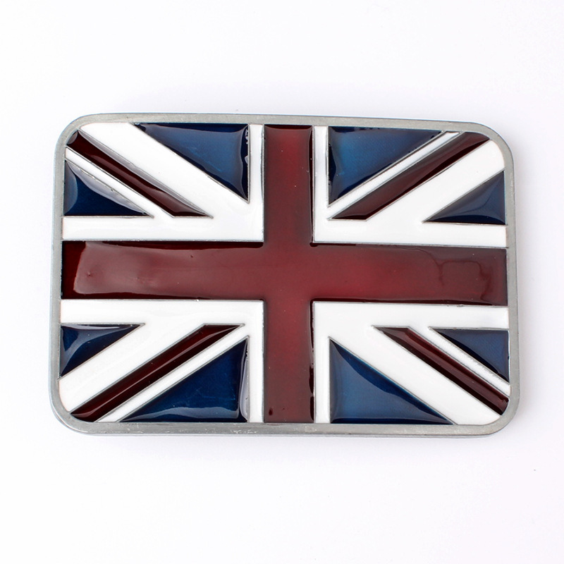 Small British Flag Belt Buckle