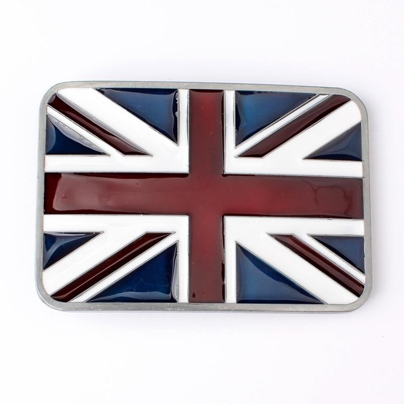 Small British Flag Belt Buckle