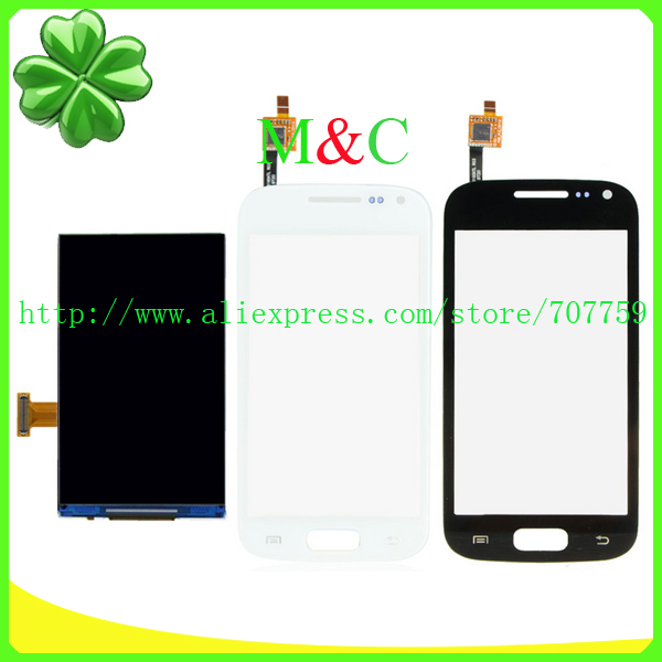 OGS I8160 LCD Touch Panel For Samsung Galaxy Ace 2 i8160 LCD Display Touch Screen Digitizer Panel Free By Post