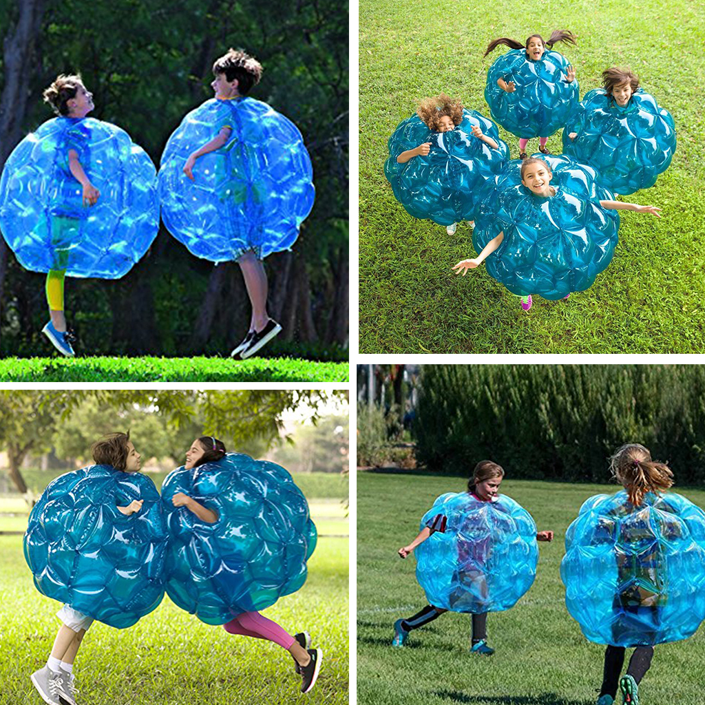 PVC 90cm Air Bumper Ball Body Zorb Bubble Ball Football Bubble Soccer ZorbBall for Sale