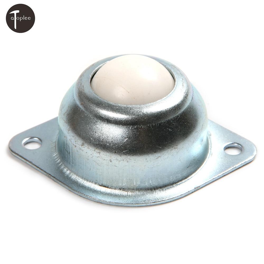 New 5pcs Dia 1/'/' 25.4mm Ball Metal Transfer Bearing Unit Conveyor Roller