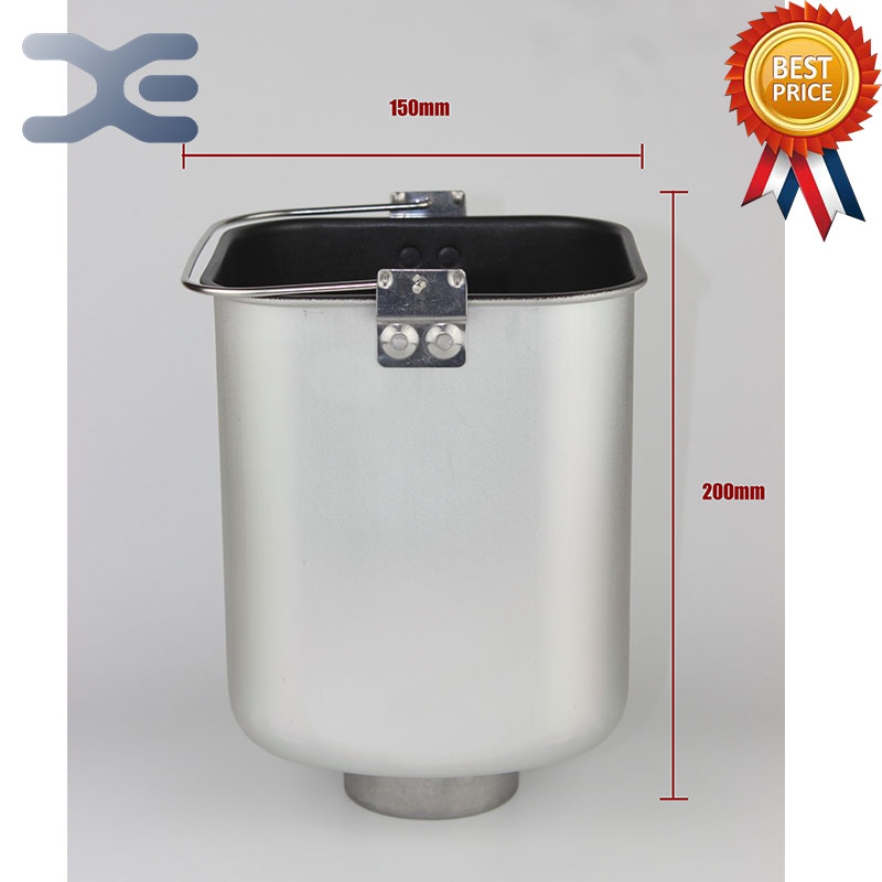 Bread Maker Machine Original Accessories Cake Barrel Square Base Straight Bread Barrel Not Sticky Pot Liner 15cm*20cm