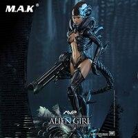 1/6 Full Set Female Alien vs Predator AVP Alien Angel Girl Action Figure Doll Hot Toys HAS002 for Collection Dolls Gift