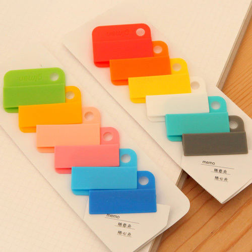 Dokibook new notebook Memo Clip Creative Stationery Easy Clips
