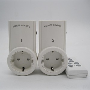 Image 4 - 2pcs Socket Wireless Remote Control Home House Power Outlet Light Switch Socket +1 Remote EU Connector Plug BH9938 2 DC 12V