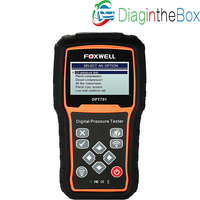 FOXWELL DPT701 Car Engine Compression Measure Fuel Oil Pressure Test 80 Bar Manometer Petrol Injection Diesel Common Rail Tester