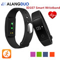 Smart Wristband ID107 ID 107 Bluetooth Fitness Tracker Smart Bracelet Hear Rate Monitor For android IOS Phone PK Cicret ALANGDUO