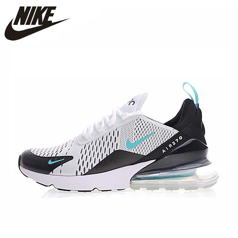 quality design 125db 67ecf Nike Air Max 270 Men Running Shoes,Outdoor Sneakers Shoes,White, Absorption  Breathable Wear-resistant Non-slip Shock AH8050 001