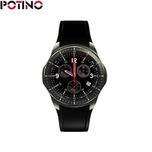 POTINO DM368 Smart Watch Fitness Tracker 3G Smartwatch Bluetooth 4.0 GPS Wifi Pedometer Heart Rate 1.39″ AMOLED Android Watch