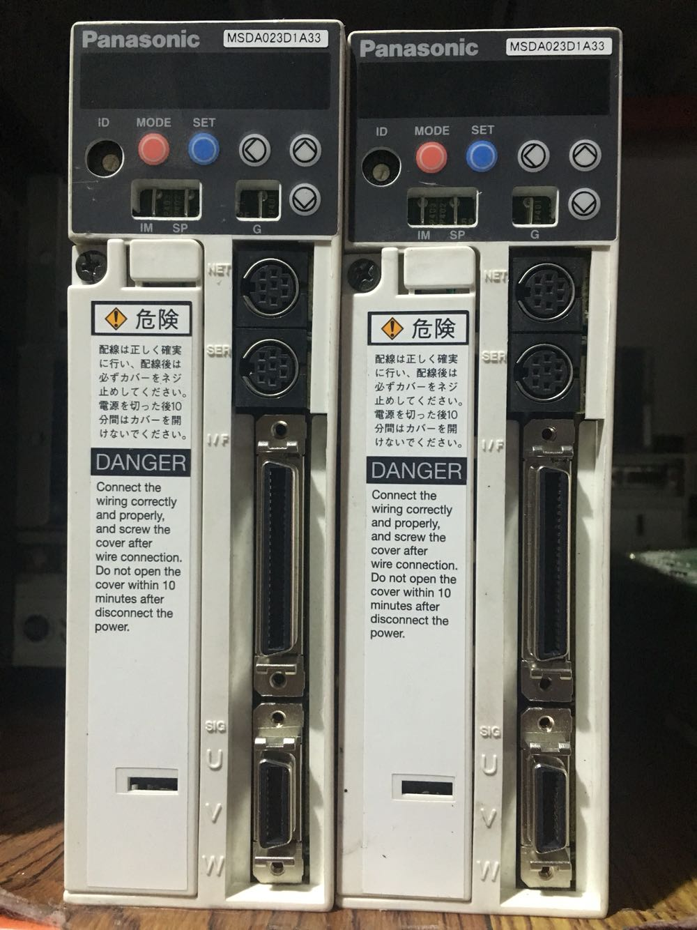 Servo drive MSDA023D1A33  ,  Used  one , 90% appearance new , 3 months warranty , fastly shipping Servo drive MSDA023D1A33  ,  Used  one , 90% appearance new , 3 months warranty , fastly shipping