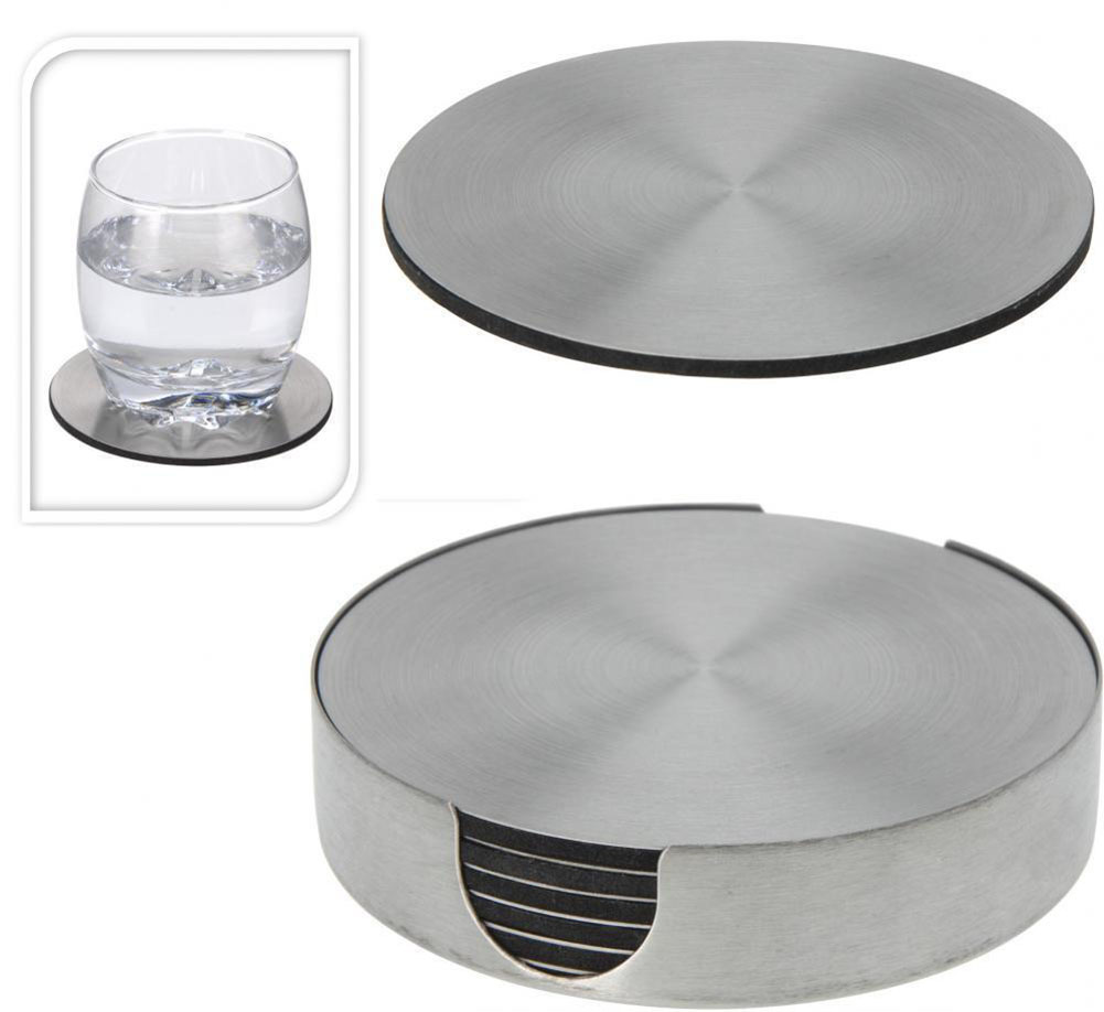 Heavy ass us navy stainless steel coaster set great for