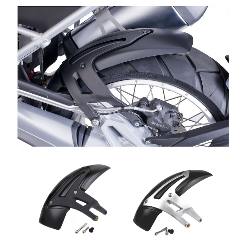 1 Set Motorcycle Rear Hugger Fender Mudguard Mud Flap Splash Guard for BMW R1200 GS LC