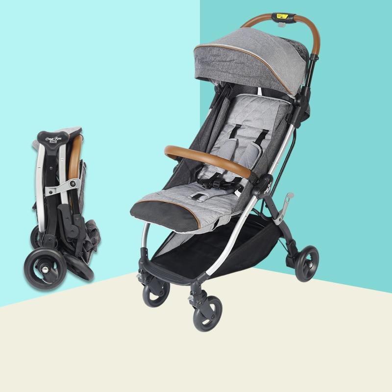 2018 NEW YOYA Baby Stroller X7 Trolley Portable Folding Baby Stroller Carriage poussete Lightweight Babyzen Yoyo Stroller Car цена
