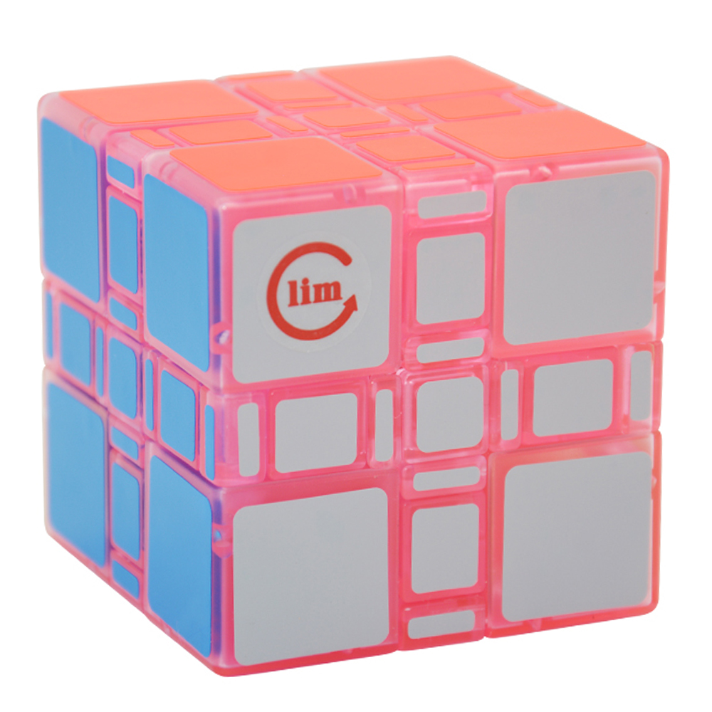 Magic Cubes Clever Fangshi 3*3*3 Mixup Transparent,unstickered 3x3x3 Mixup Puzzle Cubes Educational Toy Special Toys For Children Drop Shipping High Safety