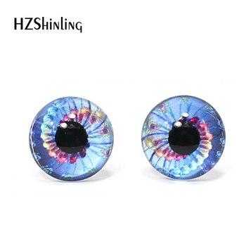 Cabujones de cristal redondos hechos a mano de 12mm con ojos de dragón y ojos de monstruo, accesorios para ojos de animales y mascotas DIY 3 pares