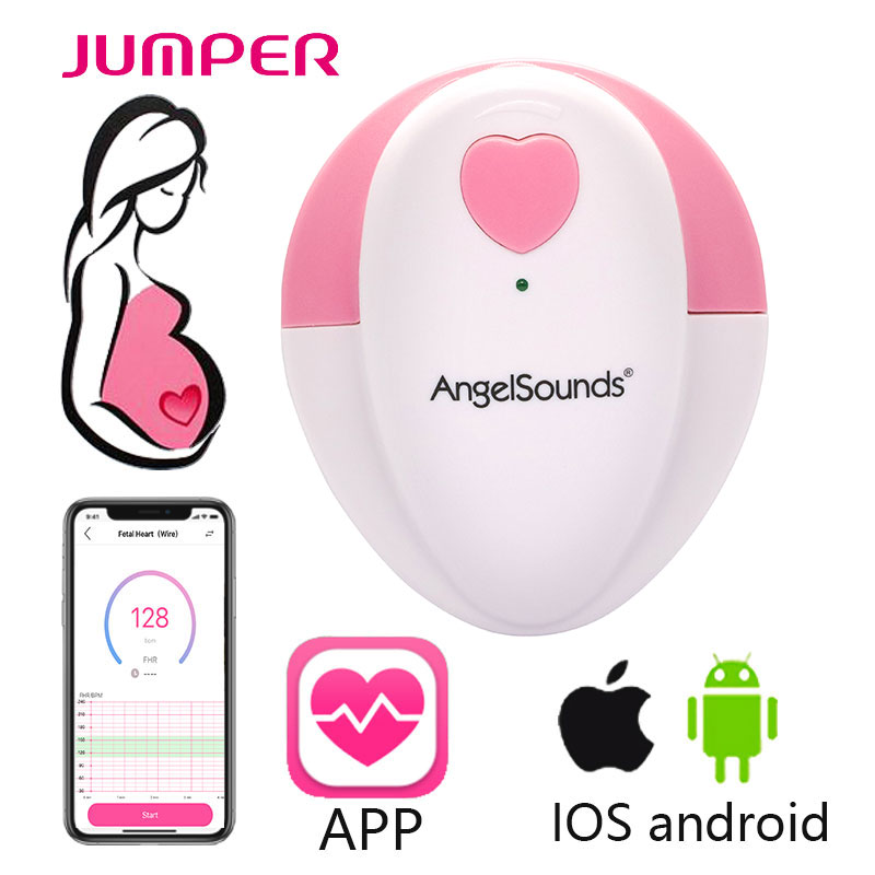 3MHZ Home use Portable Baby Heart Sounds Listener for for New Moms