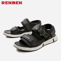 2018 summer gladiator men's beach sandals outdoor shoes Roman men casual shoe flip flops large size good quality