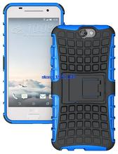 200pcs Shockproof Kickstand Rugged Hybrid Armor Combo Stand Case For HTC One A9 Phone Cover Cases
