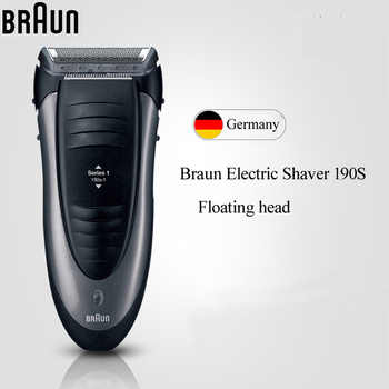 Braun Electric Razor 190S Floating Foil Men Razor Waterprrof Washing Electric Shaver Shaving machine