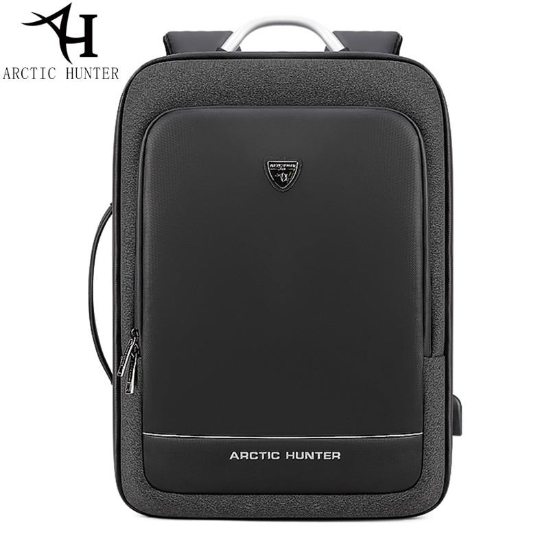 ARCTIC HUNTER USB waterproof Backpack Men Multifunction Portable hand bag shoulder Business Travel 15.6/17 inch Laptop backpack