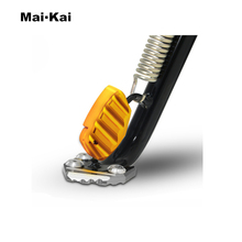MAIKAI FOR YAMAHA XMAX 125 XMAX 250 XMAX 300 XMAX 400 2014-2019 Motorcycle Kickstand Footrest Extension Side Stand Support цена