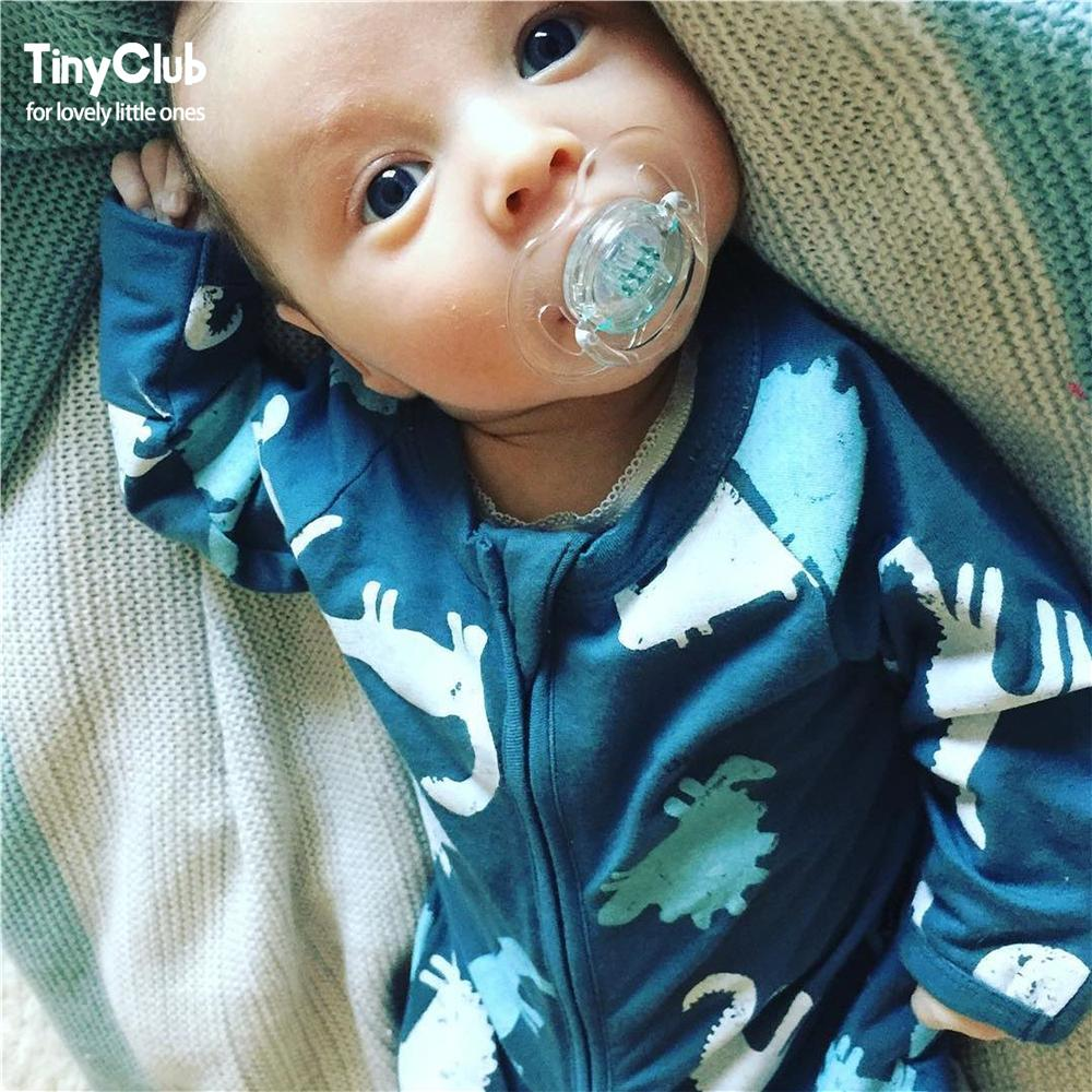 Infant Jumpsuit Long Sleeves Мультфильмдер Romper Baby - Балаларға арналған киім - фото 3