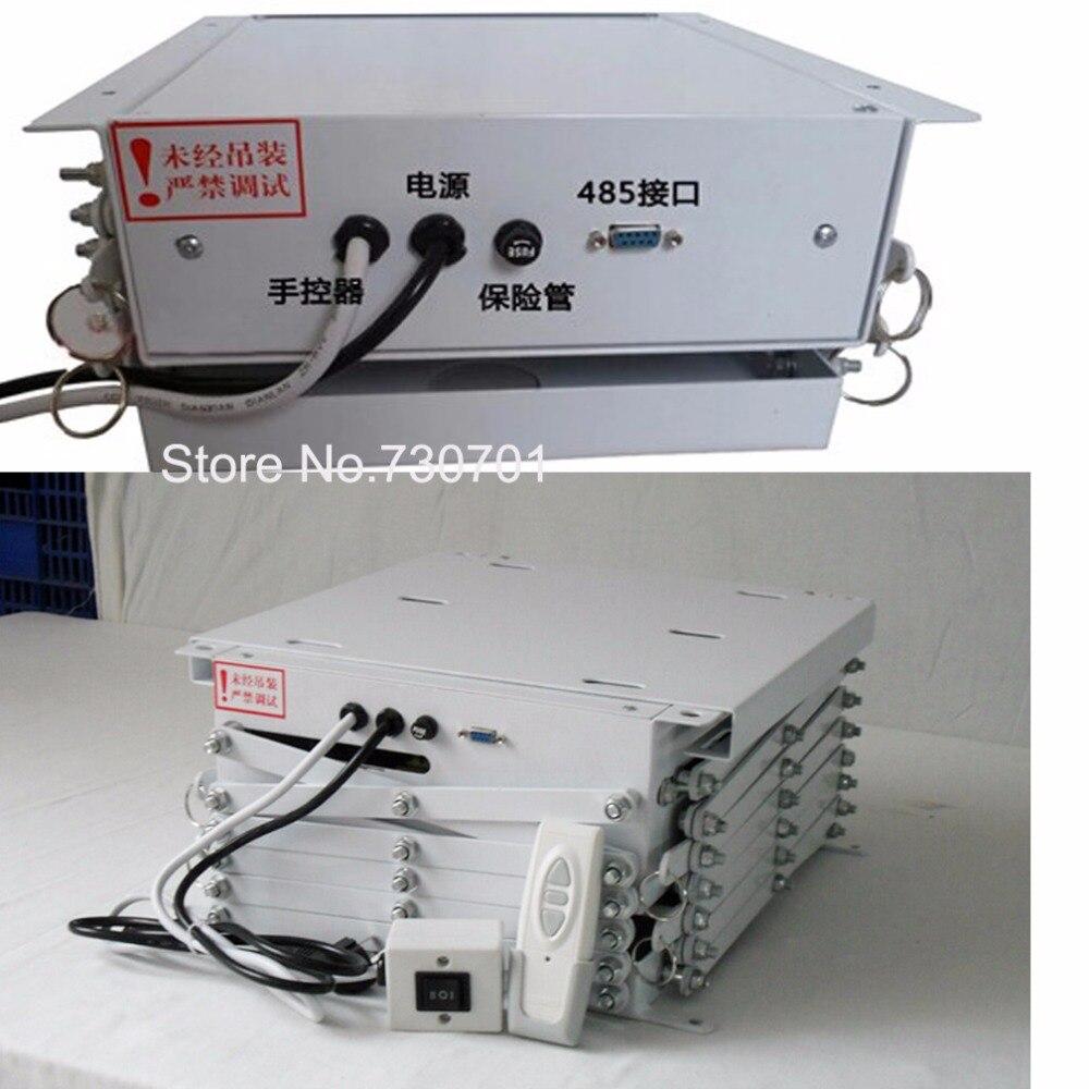 RS contrôle USA standard 25 kg capacité de chargement 1.5 mètre distance de fonctionnement ascenseur de projecteur pour système audiovisuel