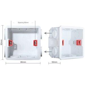 Image 5 - フランス規格壁電源ソケットusbソケットストリップ2/3/4/5クリスタル強化ガラス素材パネル高級townhouseソケット