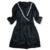 Venta caliente Del Envío Libre 2016 Nuevo Diseño de Otoño Largo de la Manga de dama de Honor Moda Sexy Pijamas Batas albornoces Más El Tamaño Ml XL XXL