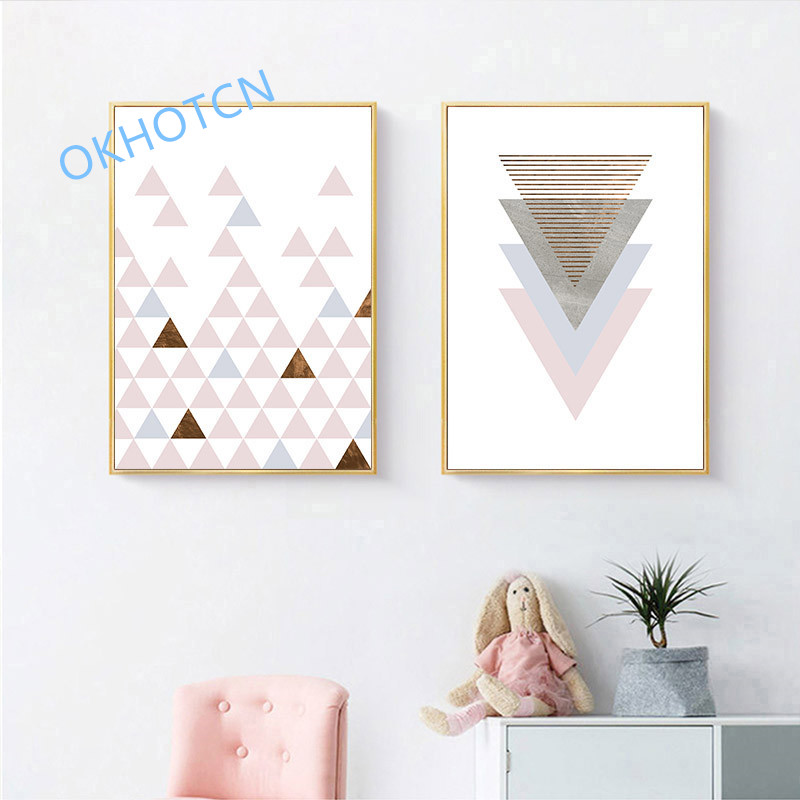 Pink-Geometry-Wall-Art-Canvas-Nordic-Style-Posters-and-Prints-Abstract-Painting-Wall-Pictures-for-Living (2)