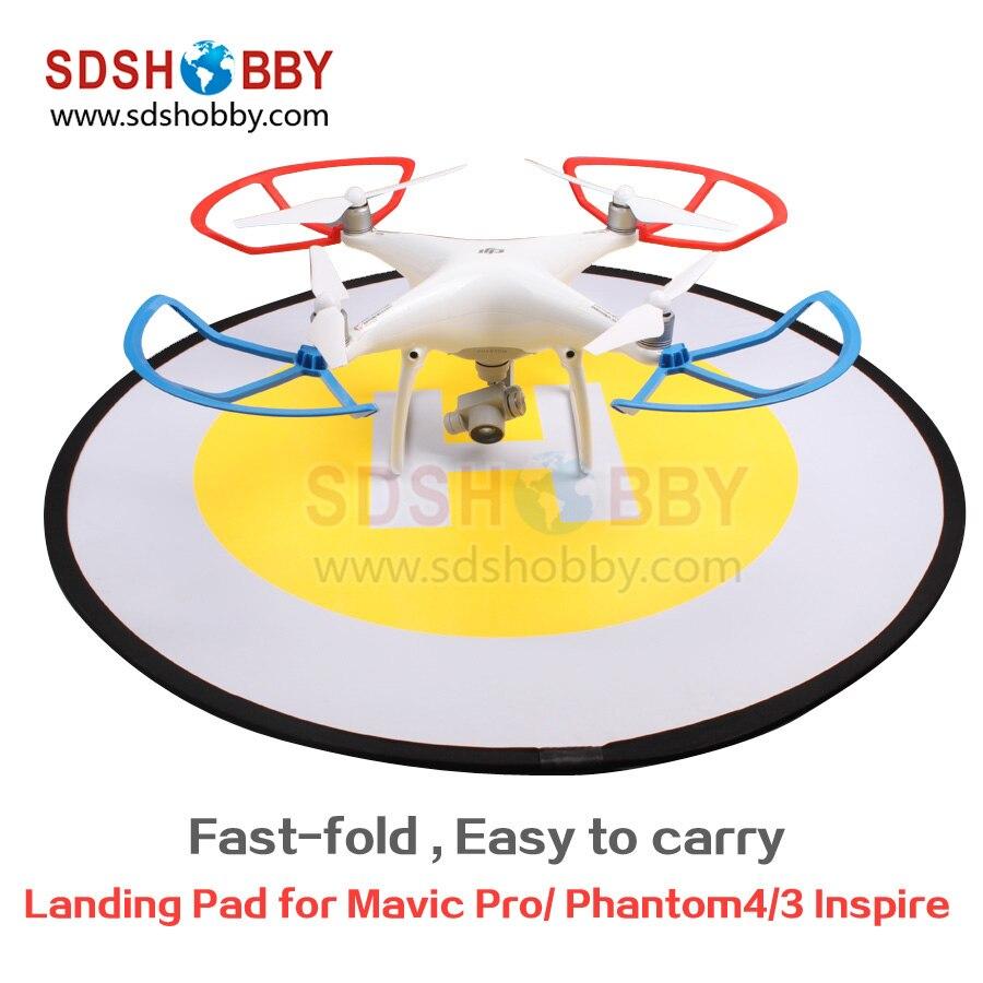 FPV Drone Landing Pad Parking Apron Helipad Fast-fold Protective Gimbal Parts for DJI Phantom 4/3 DJI Mavic Pro Inspire 1