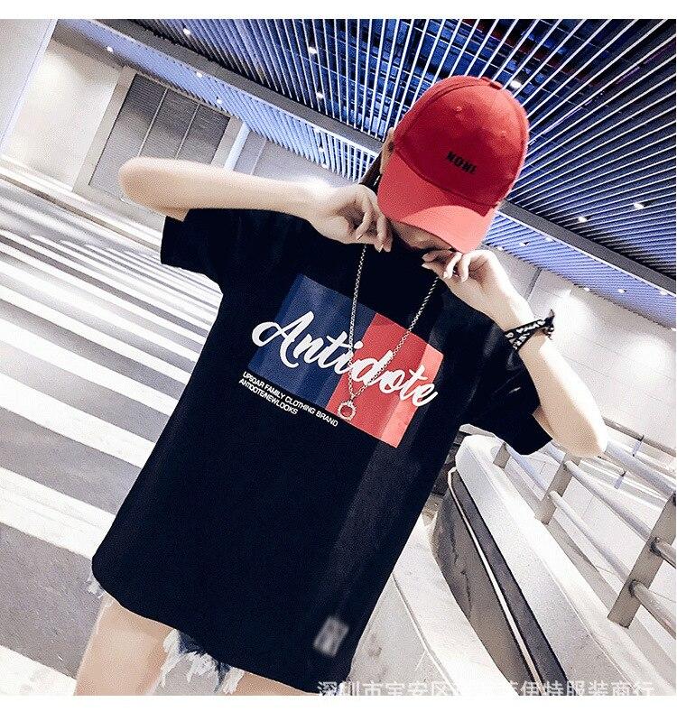 2019 nouveau T-shirt femme mignon T-shirt cool T-shirt marque T-shirt amant kawaii chemise taille haute