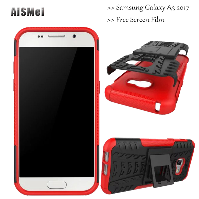 AiSMei 4.7 Coque For Samsung Galaxy A3 2017 Case A320 A320F SM-A320F Fundas Silicone TPU Filp Back Cover for Samsung A3 2017 ...