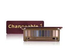 12 Colors Eyeshadow Palette Naked Smoky Makeup Matte Shimmer Pigment Powder Maquiagem Sleek set