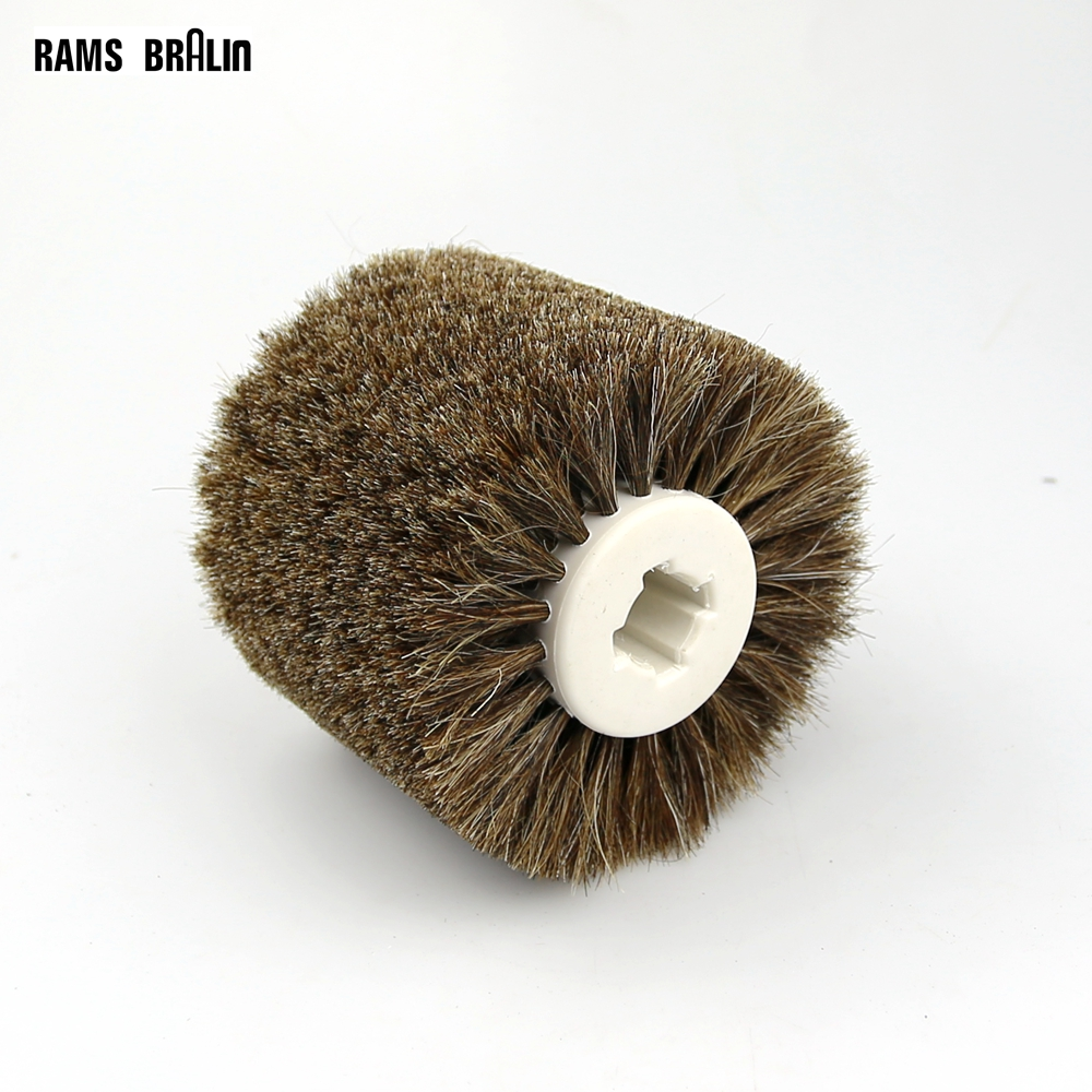 Image 4 - 1 pcs 120*100*19mm Sisal Bristle Polishing Waxing Wheel Brush for Annatto Rosewood Furniture Surface Mirror Finishfurniture wax brushespolishing wheelwheel polishing -