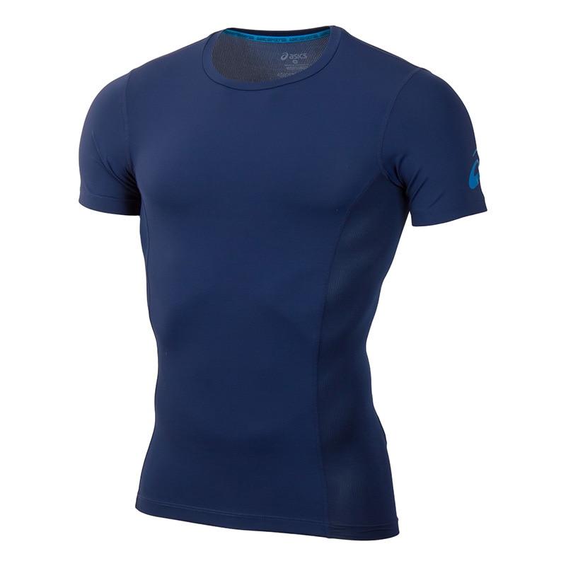 Фото - T-Shirt ASICS 141104-8052 sports and entertainment for men sport clothes men sport running fitness sleeveless t shirt