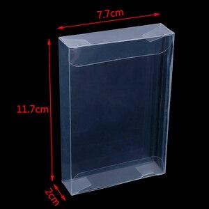 Image 3 - 10 יח\חבילה ברור שקוף עגלות תיבת מקרה עבור Nintend N64 מחסנית מ.ח. מגיני