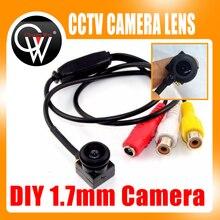 5MP HD 1.7mm 1/4 lens 600TVL Color/B&W Camera cctv Security Camera