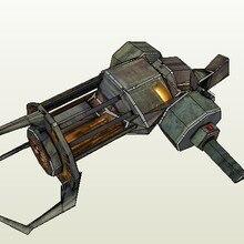 Бумажная модель HD рисунки Half-Life 2 научная фантастика пистолет