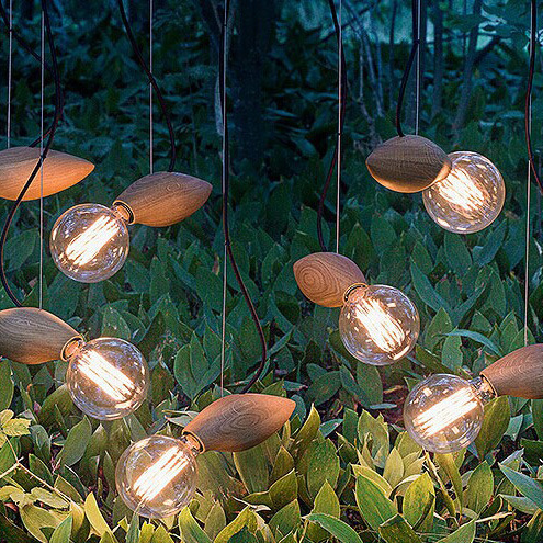 Firefly style Modern  Northern Europe Style  shop/ Resturant wooden bar lamps wooden E27 wood pendant lamps ZDD0020